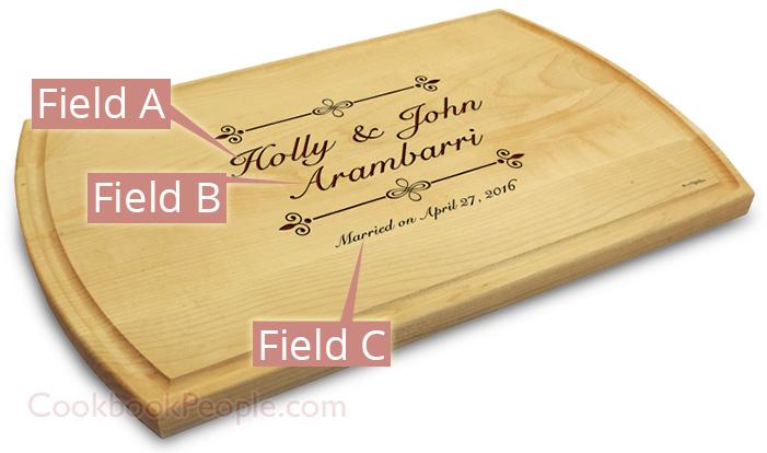 10x16 Chopping Board Engraved