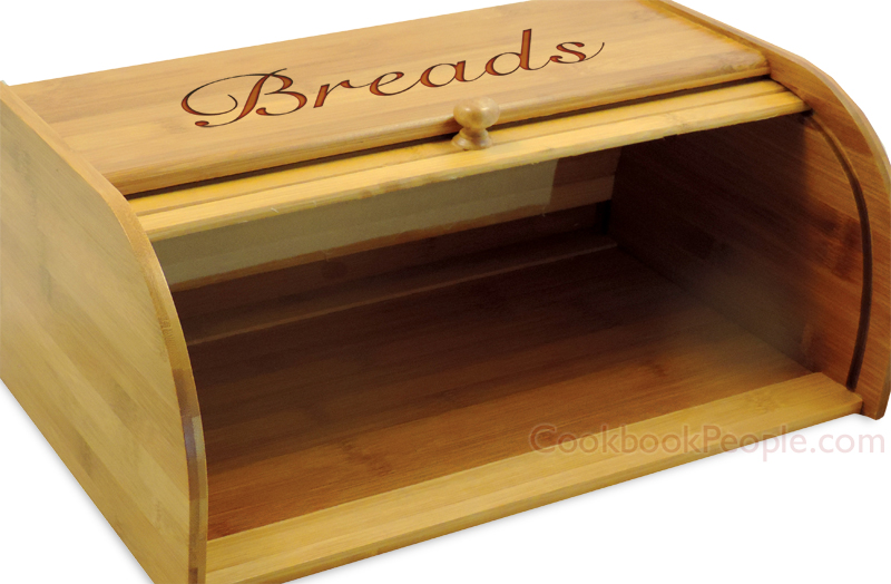 Rollup Bread Box Opened