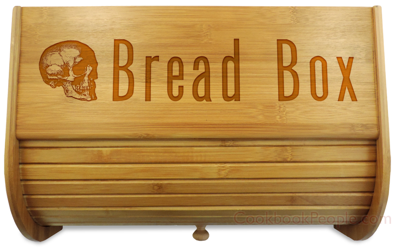 Bread Box Close Up of Lid