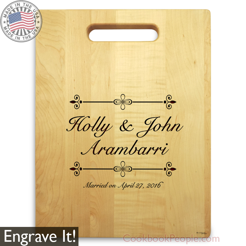 Chopping Board with Engraved Name