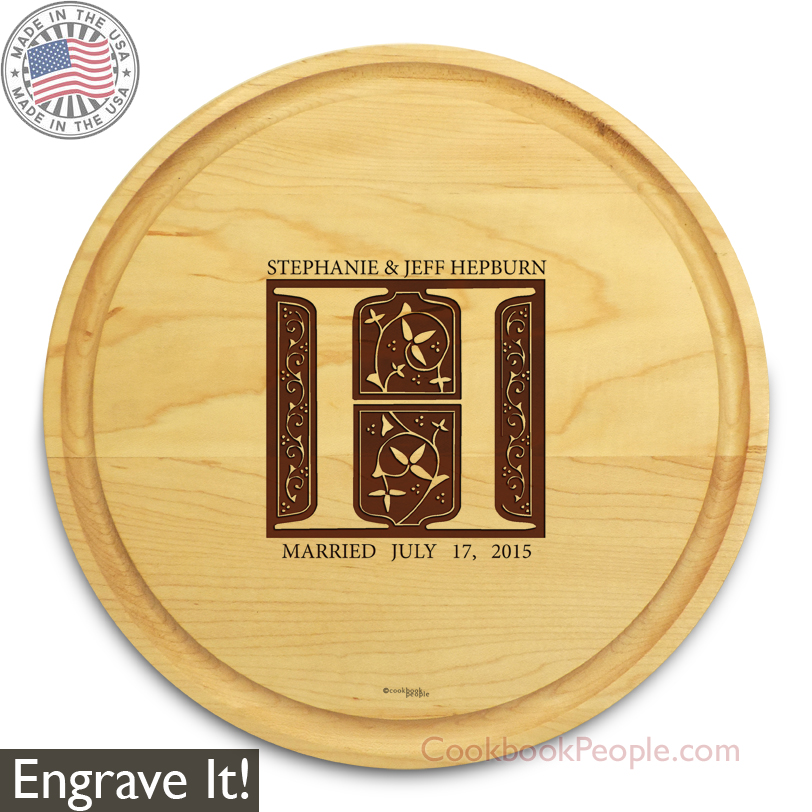 Personalized Circular Cutting Board