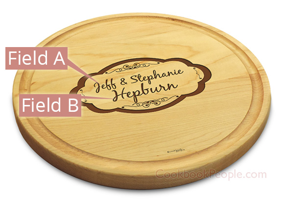 Maple Chopping Board with Juice Groove
