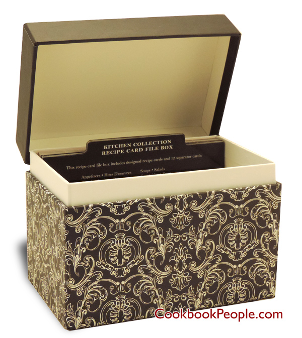 Recipe box warehouse recipe box savory eats black chalk board design thecheapjerseys Image collections