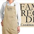Cookbook apron