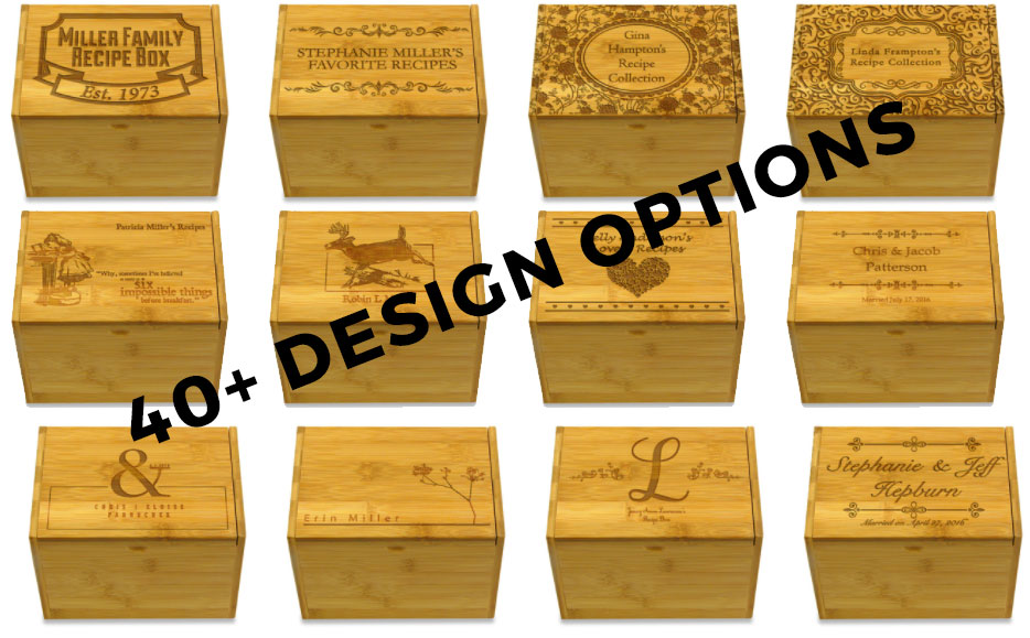 Personalized Recipe Boxes