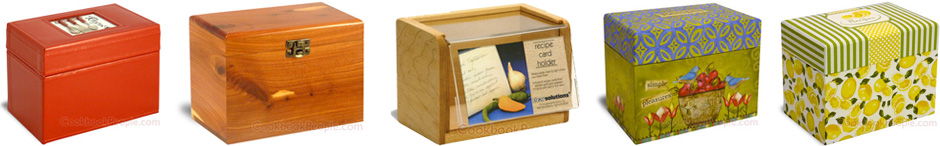 Recipe Box Selection
